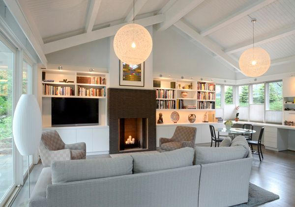 20 Beautiful Living Room Layout With Two Focal Points Livingroom