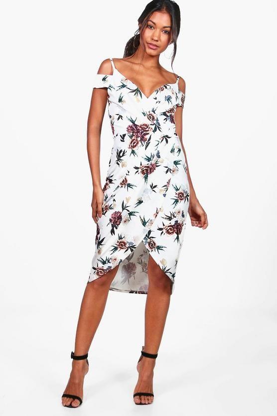 17+ Boohoo floral wrap dress ideas in 2021