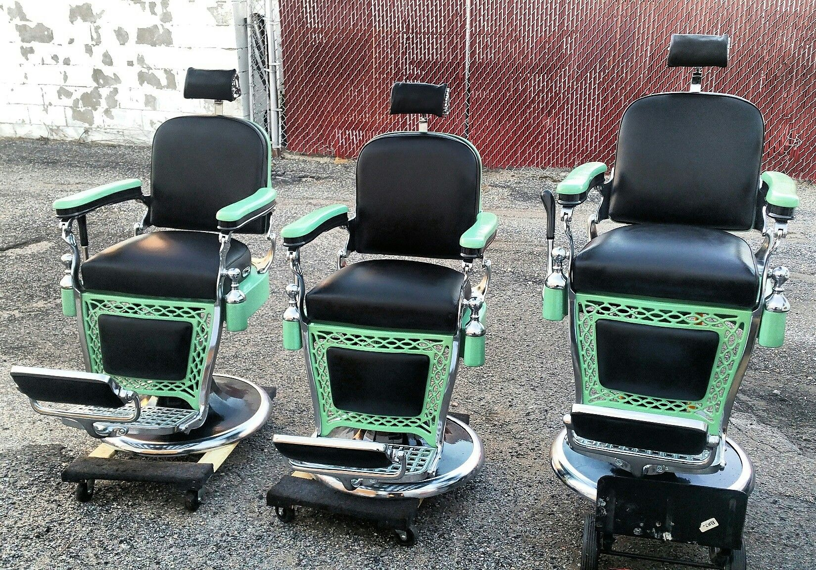 Belmont Barber Chair Repair Rocking For Nursery Target Pin By Custom Restoration New York On Antique