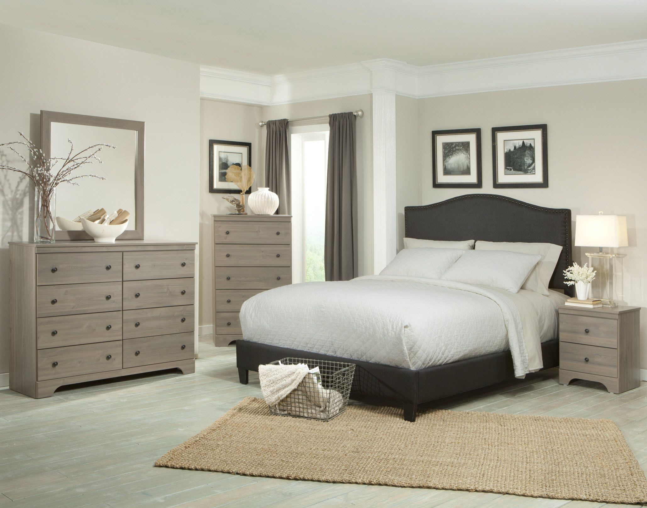 Ornate wooden ikea bedroom transitional furniture sets with queen platform beds as well as Master bedroom with grey furniture