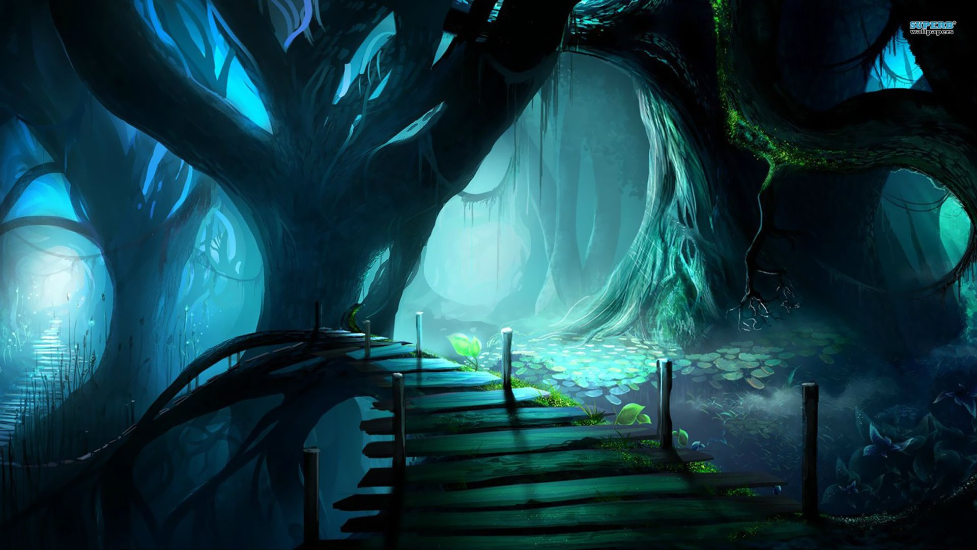 Fantasy Hd Wallpapers Page 17 Fantasy Forest Forest Cartoon Scary Wallpaper