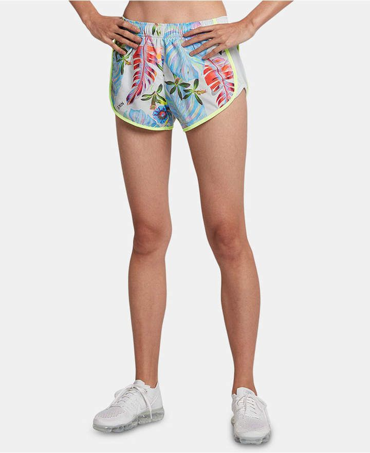 b2164f290b662 Nike Dry Tempo Ultra-Femme Printed Running Shorts - Silver S