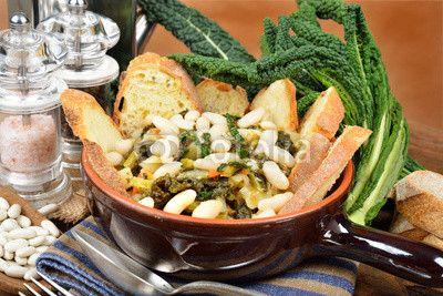 Ricette toscane la ribollita zuppe e insalate ethnic for Ricette toscane