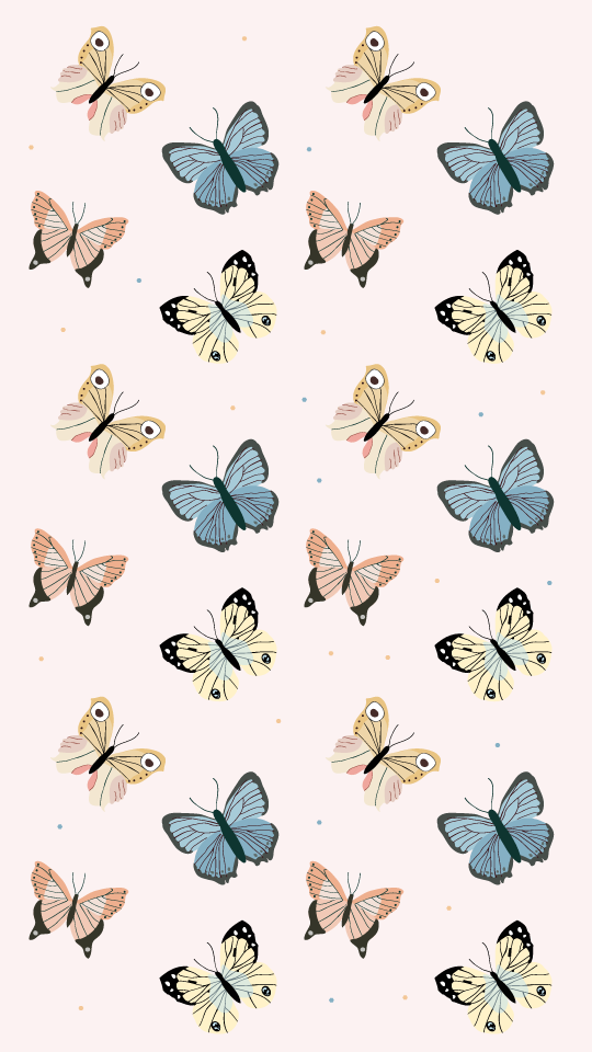 Wallpaper Papillons On Behance In 2020 Cute Home Screen Wallpaper Cute Home Screen Wallpaper Butterfly Wallpaper Iphone Background Wallpaper