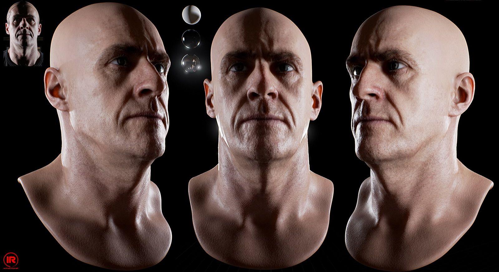 UE4 Skin Shader and Virtual Character Rendering | Infinite