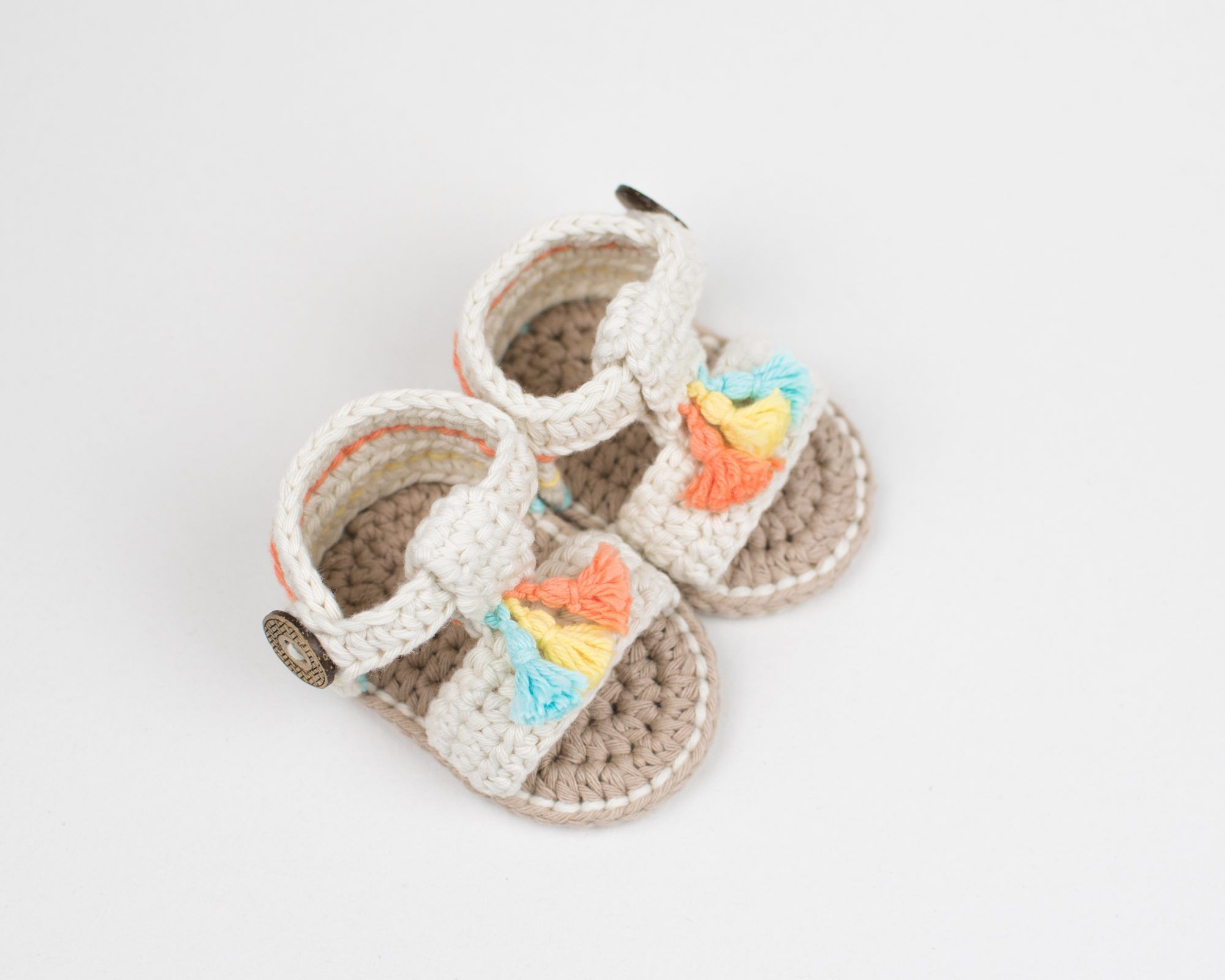 54548176cee8 Crochet Baby Boho Sandals – Croby Patterns