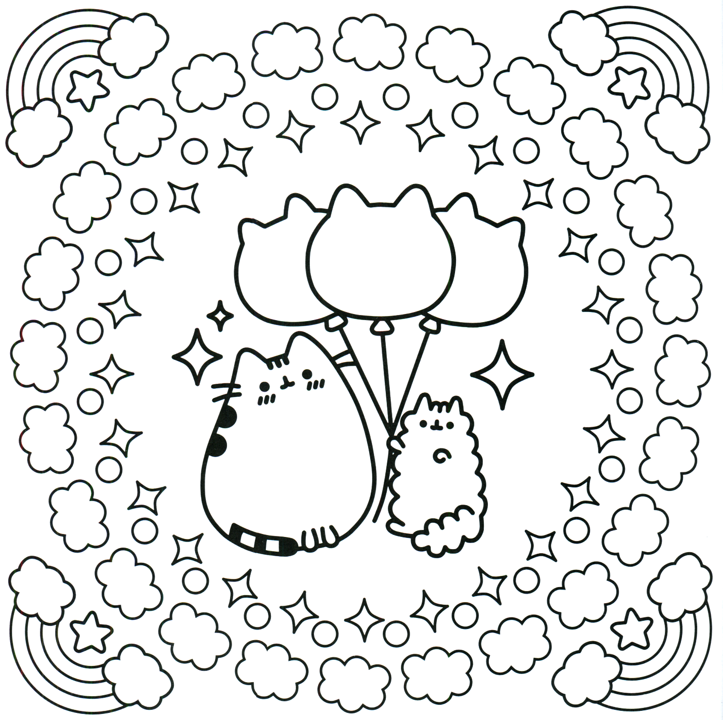 Pusheen Coloring Pages - Best Coloring Pages For Kids in ...