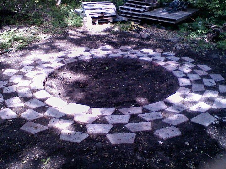 Bonfire Pit Garden Pinterest Bonfire Pits Garden Outdoor Projects