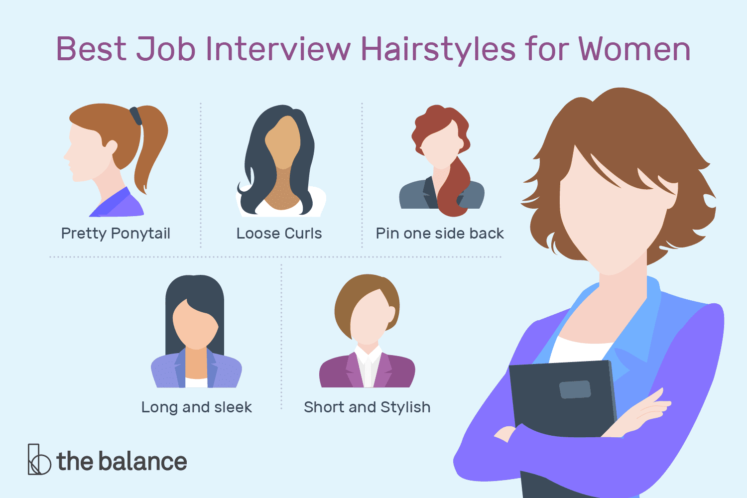 What 39 S The Best Way To Style Your Hair For A Job Interview Here 39 S A Selection Of The Best Hairs Job Interview Hairstyles Interview Hairstyles Hair Job