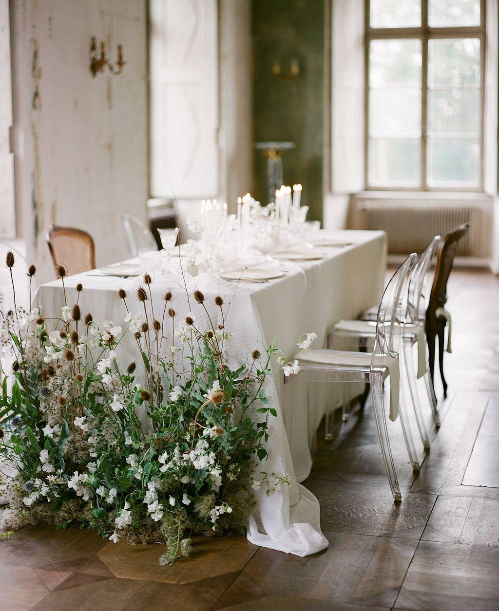 Modern Wedding Decoration Ideas: Modern Contemporary Chateau Wedding Ideas