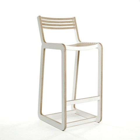 D-Bar Chair Slatted