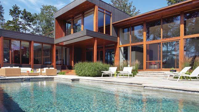 Beautiful Maison De Reve Moderne Avec Piscine Minecraft Ideas ...