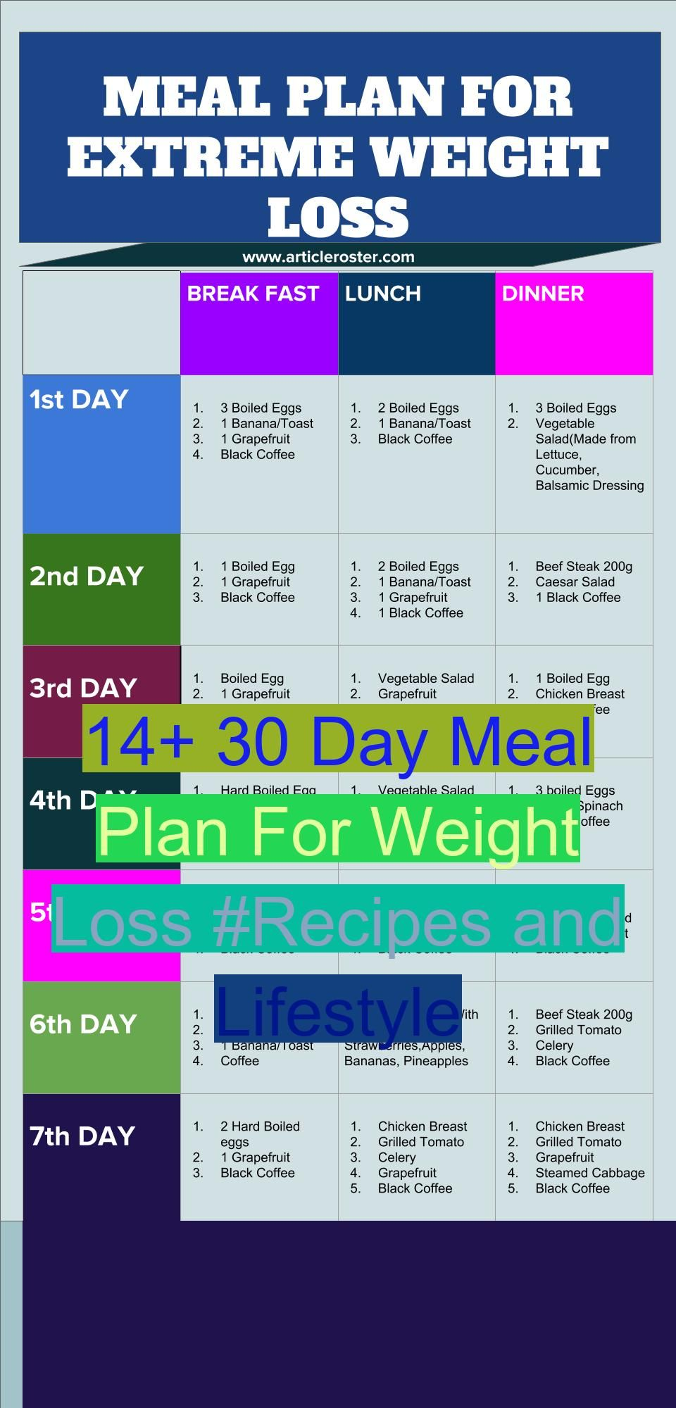 30 Day Meal Plan For Weight Loss Denisa Qidan Denisaqidan Fitness Health Diet Here Is A Diet Meal Plan To Lose Weight For