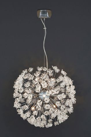 Next lighting sale lighting ideas fl spray 8 light chrome pendant from next home interior mozeypictures Choice Image