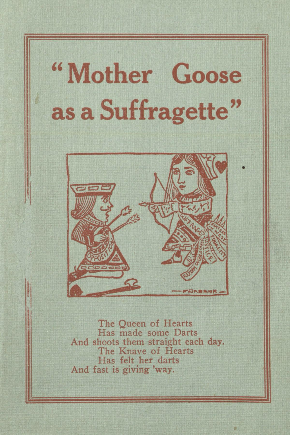 Roses are red, violets are blue, these suffragette poems ring all too true