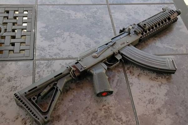 Draco SBR w/ Ultimak Rail  Great looking gun  | Rifles