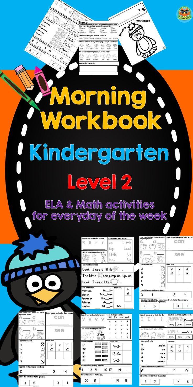 Workbooks pre k workbook : Kindergarten Morning Work | Dr martins, King jr and Martin luther king