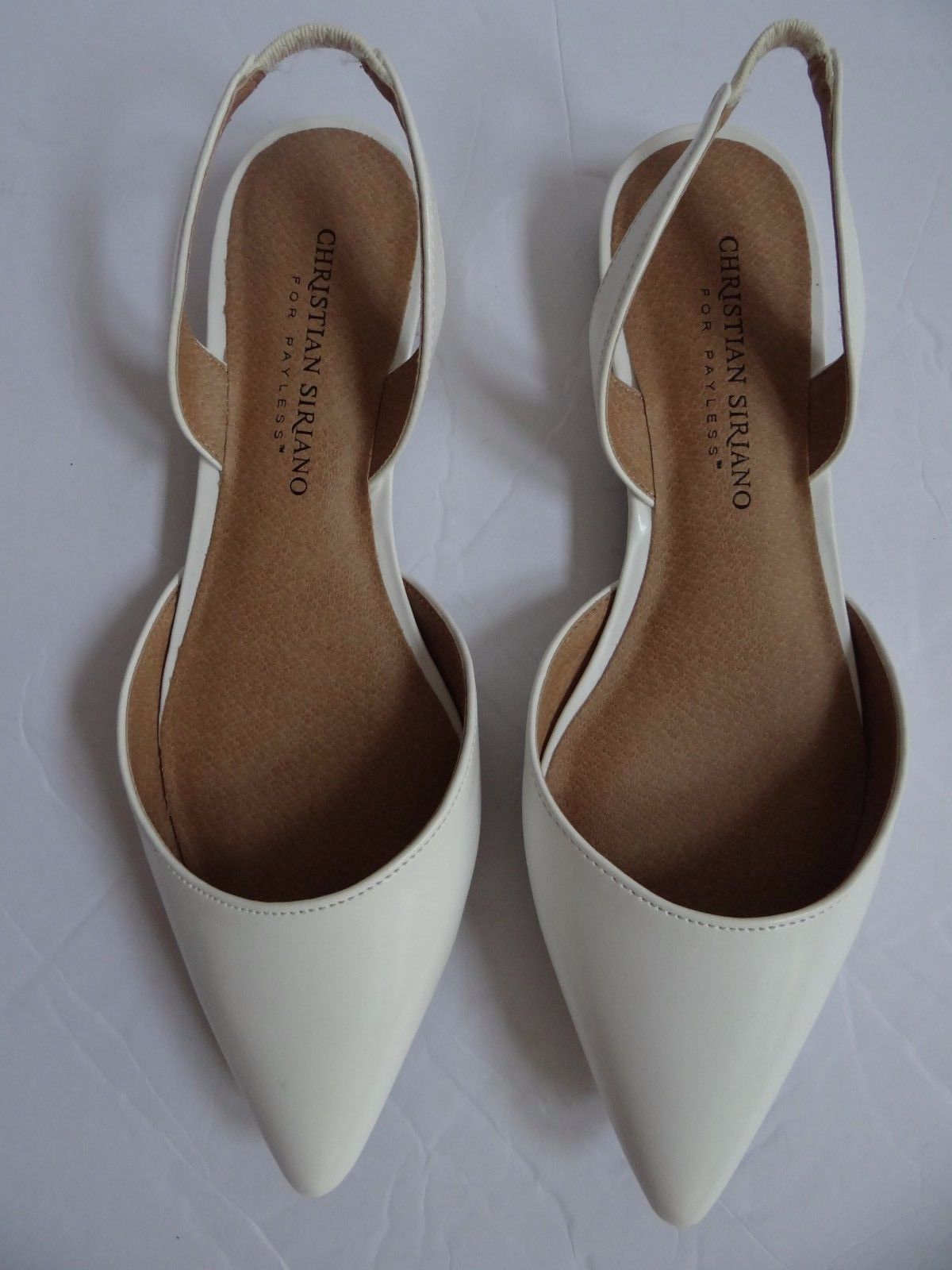d47afeff95751 Details about Christian Siriano For Payless Slip On Ballet Flats ...