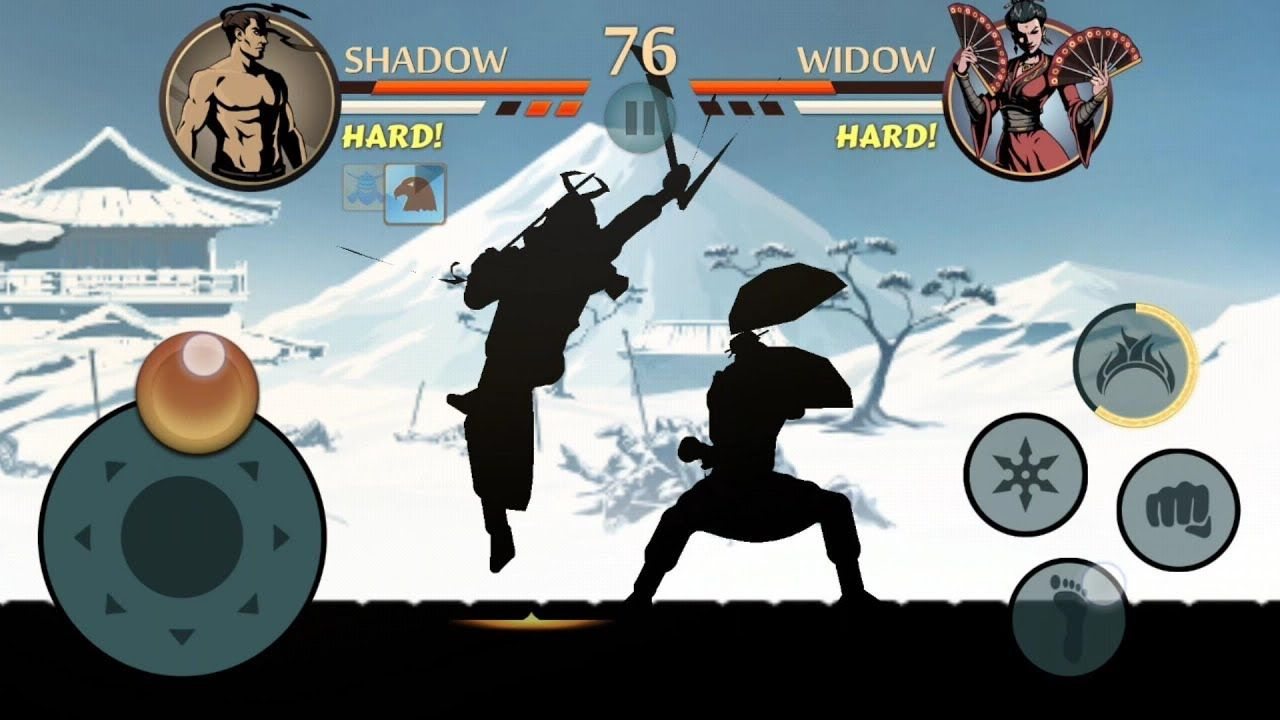 Shadow vs Widow | Lets Get WIDOW Weapon | Shadow Fight 2