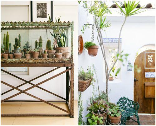 Idea para jard n en una pecera decoracion faro for Faros para jardin