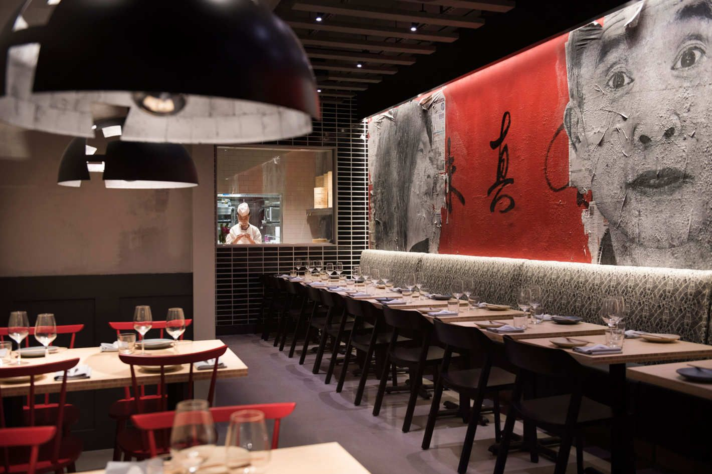 Pinch Chinese Opens In Nyc Japanese Restaurant Interior Restaurant Interior Fine Dining Restaurant