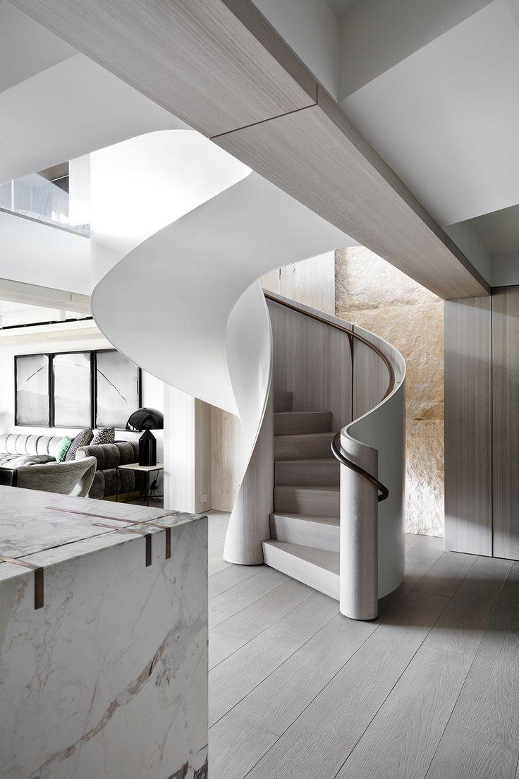 Best Central Park Duplex New York Staircase Design Modern 400 x 300