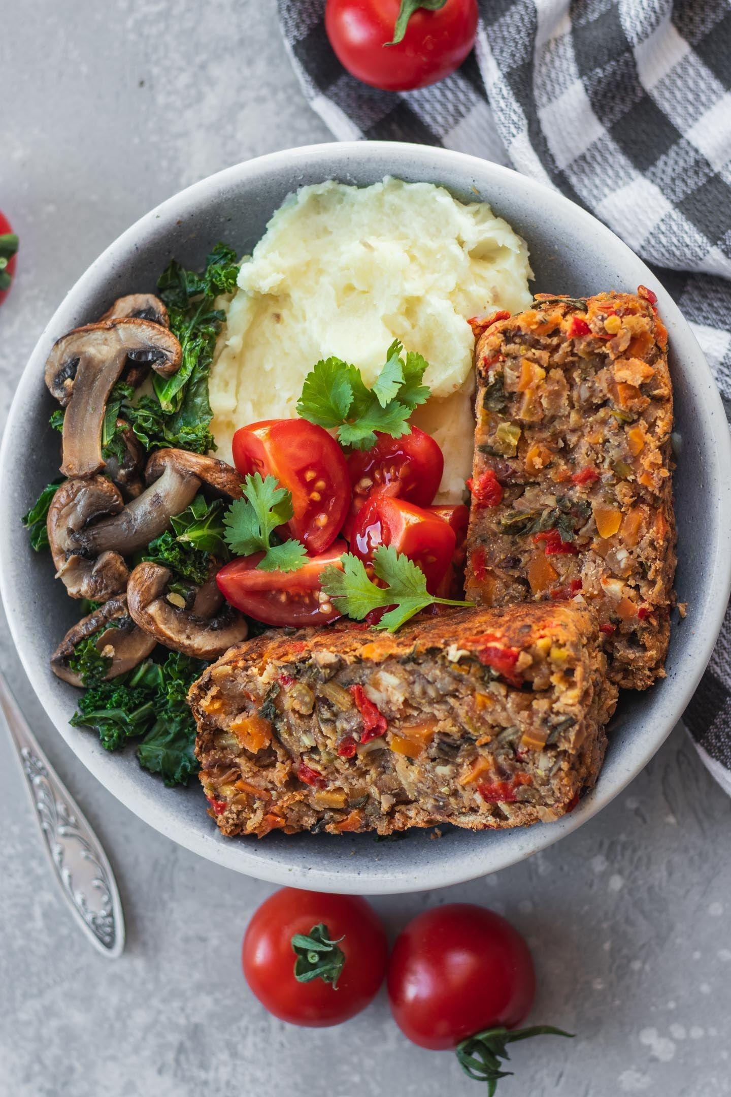 Easy vegan lentil loaf glutenfree oilfree recipe