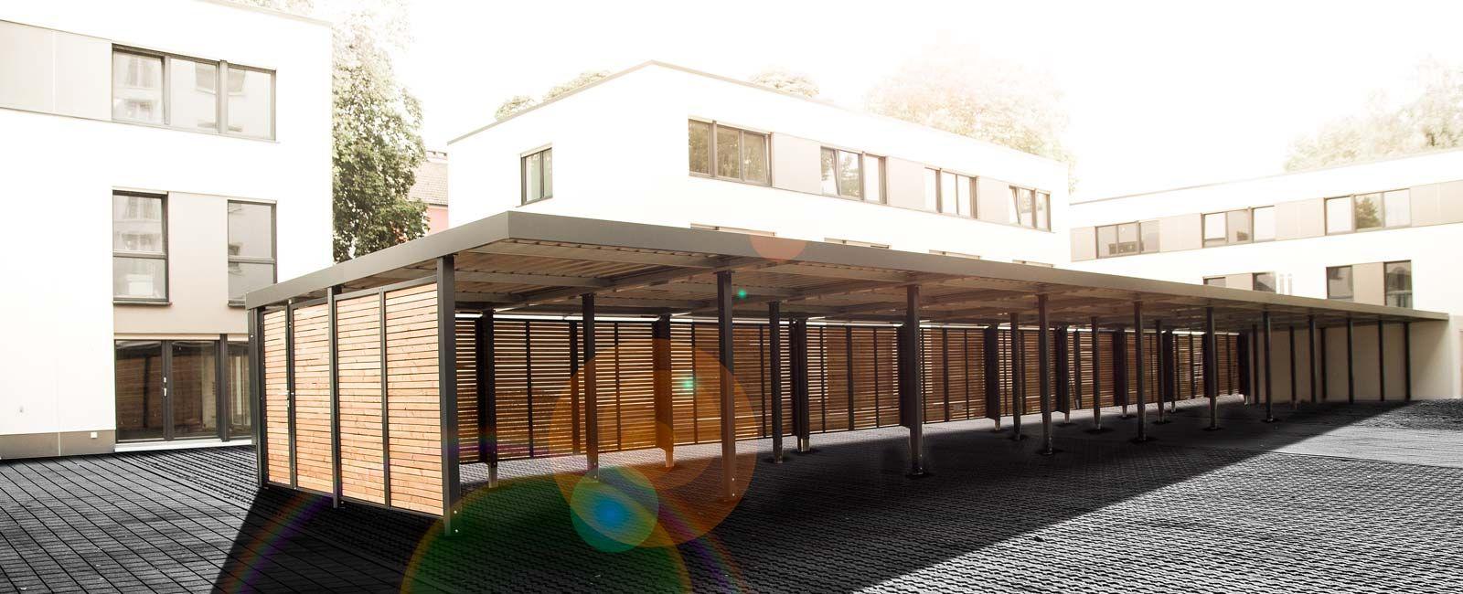 Siebau Carport siebau carport cp 258 mit flachdach