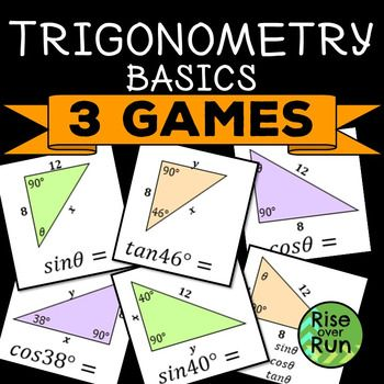 Trigonometry Games for High School Geometry | things to teach ...