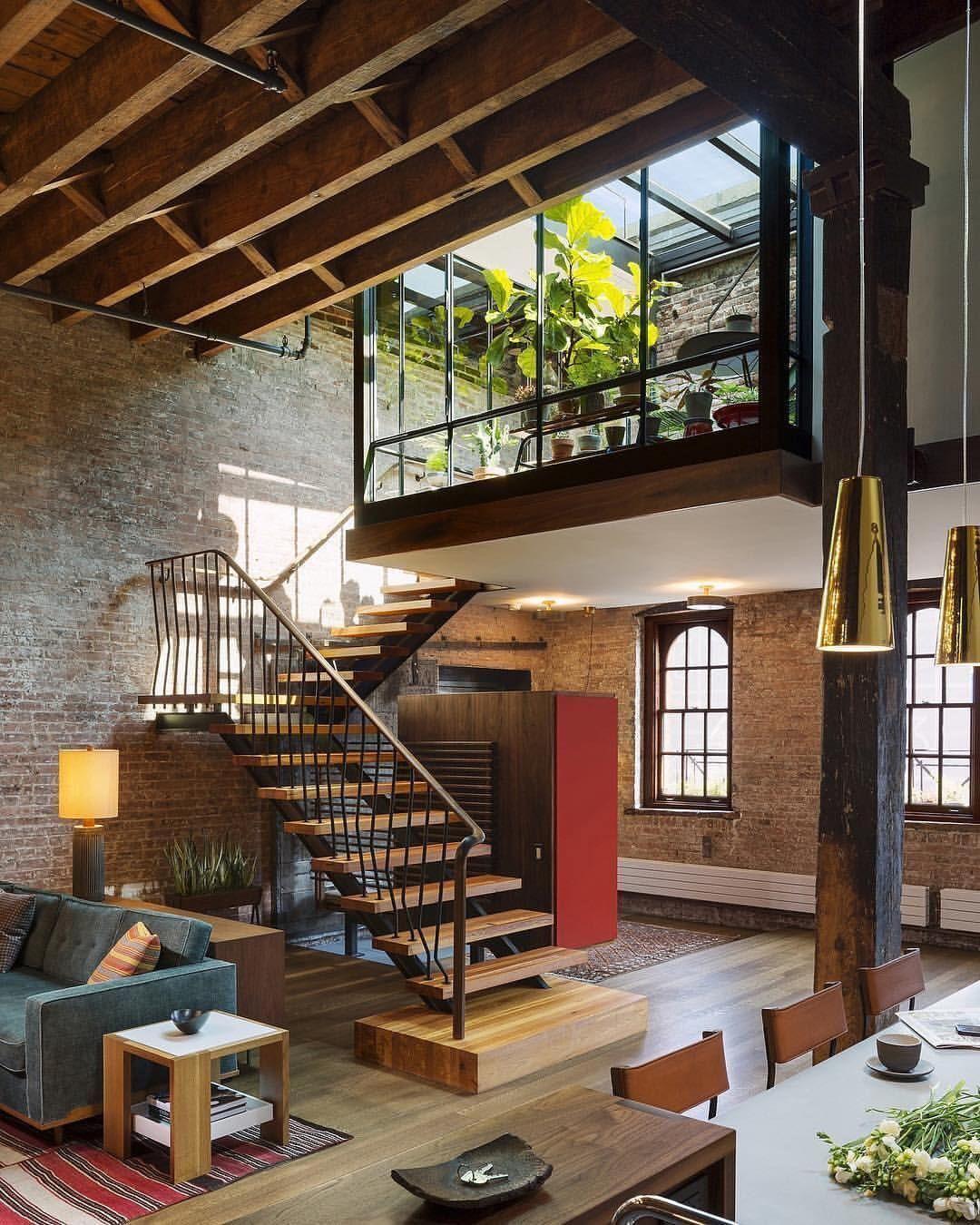 Live Work Loft Design Loft Interiors Loft Apartment Decorating