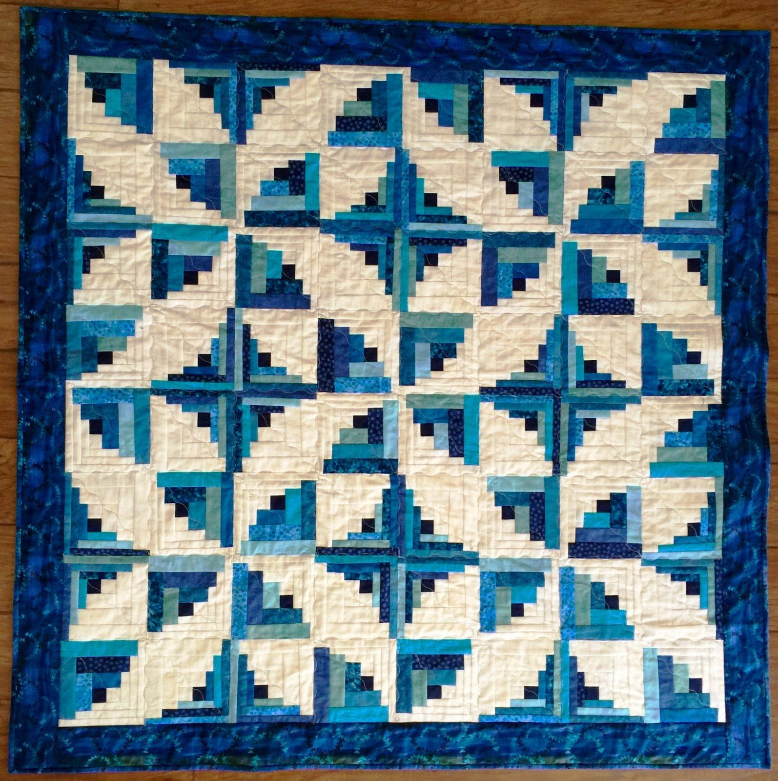 Curvy Log Cabin Log Cabin Quilts Pinterest Log