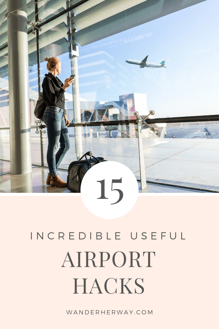 15 Extremely Helpful Airport Tips to Make Travel Easier - Wander Her Way