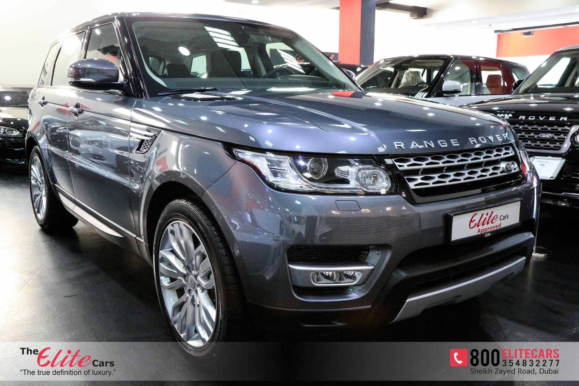 Range Rover Sport Hse V6 Supercharged Brand New Gcc With Warranty