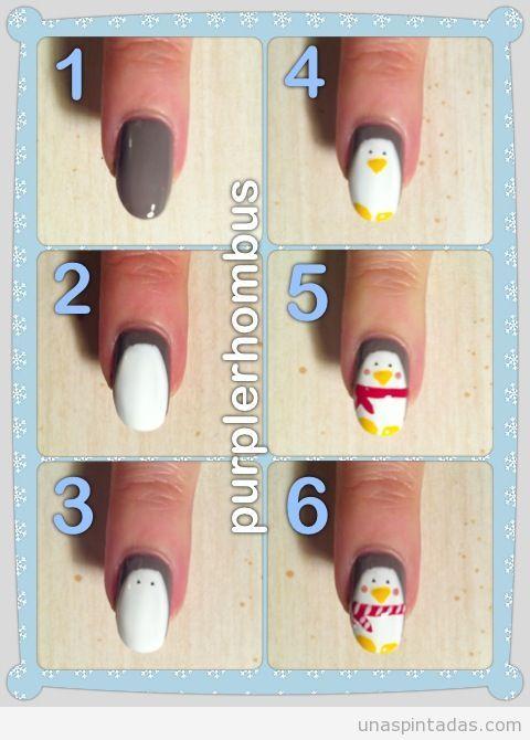 tutorial-paso-a-paso-dibujo-facil-pinguino-uñas-nail-art.jpg (480 ...