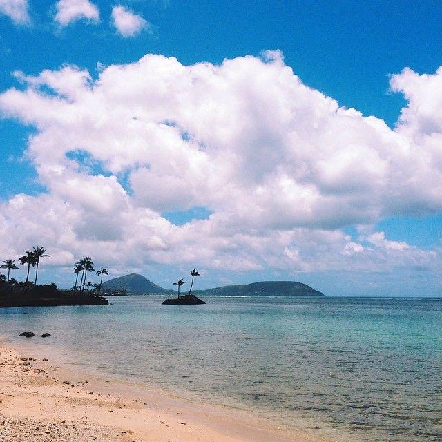 Waikiki Beach Wedding Ceremony: Wai'alae Beach Park In Honolulu, HI A Small Tranquil Beach