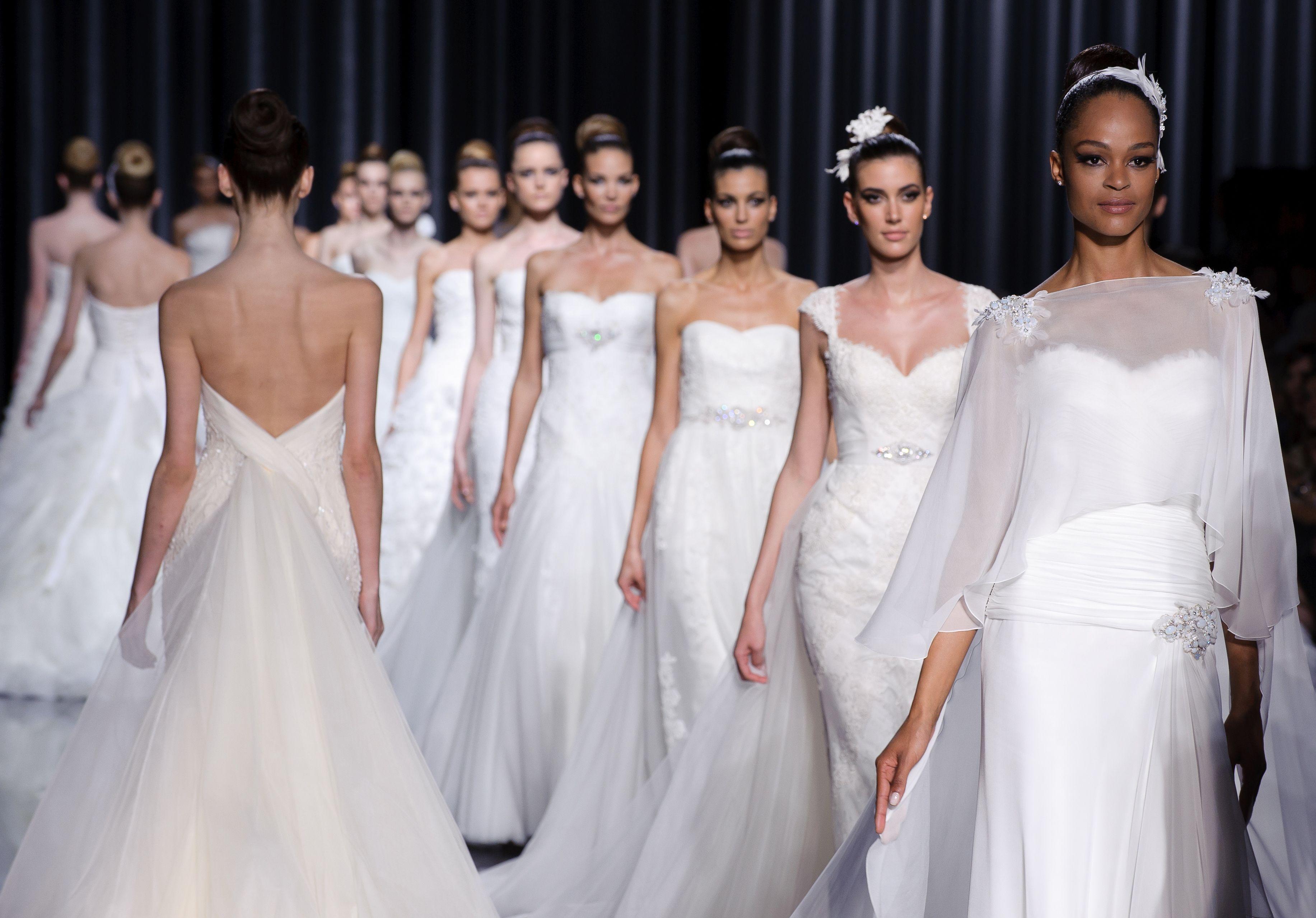 Brands of wedding dresses weddingdress pinterest bridal this seasons top designer wedding dresses ombrellifo Choice Image