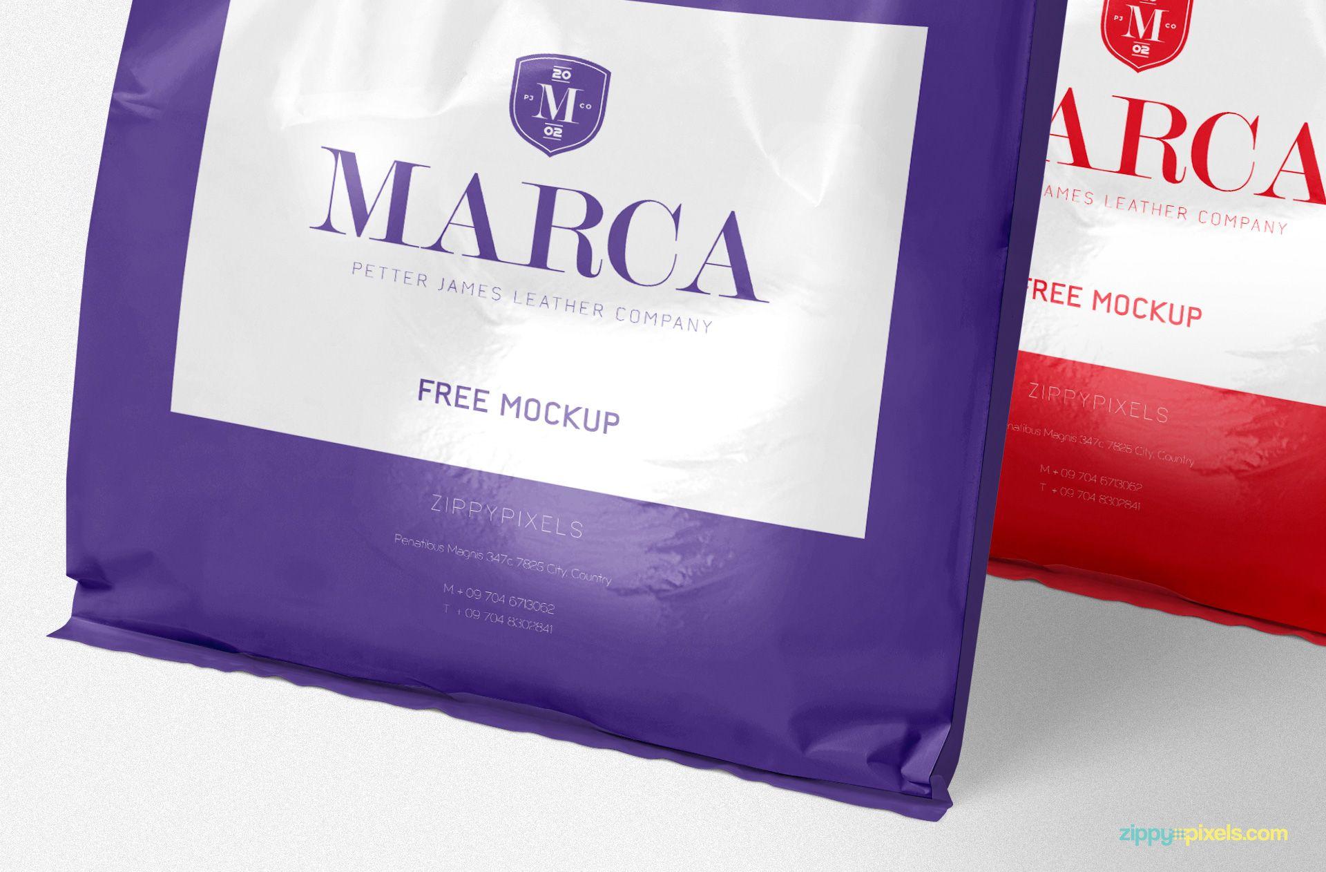 Download Free Plastic Bag Mockup Zippypixels Free Packaging Mockup Bag Mockup Packaging Mockup