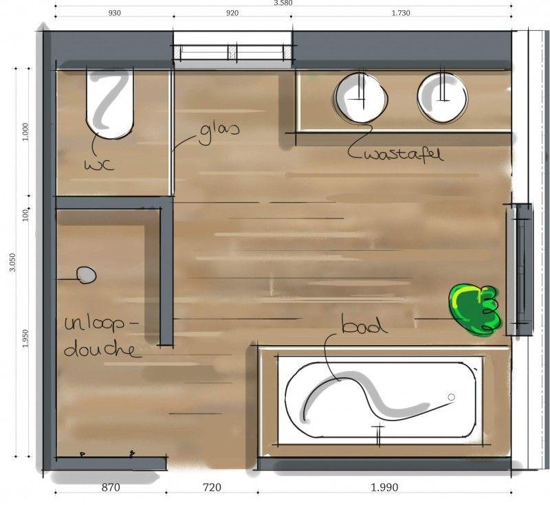 Beautiful Indeling Badkamer Maken A17 - HOME - Bathrooms ...