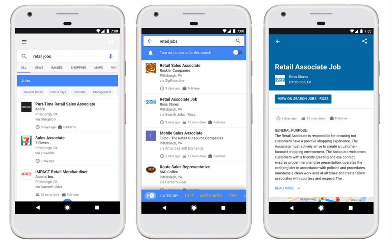 Google's powerful job search tool is going live today