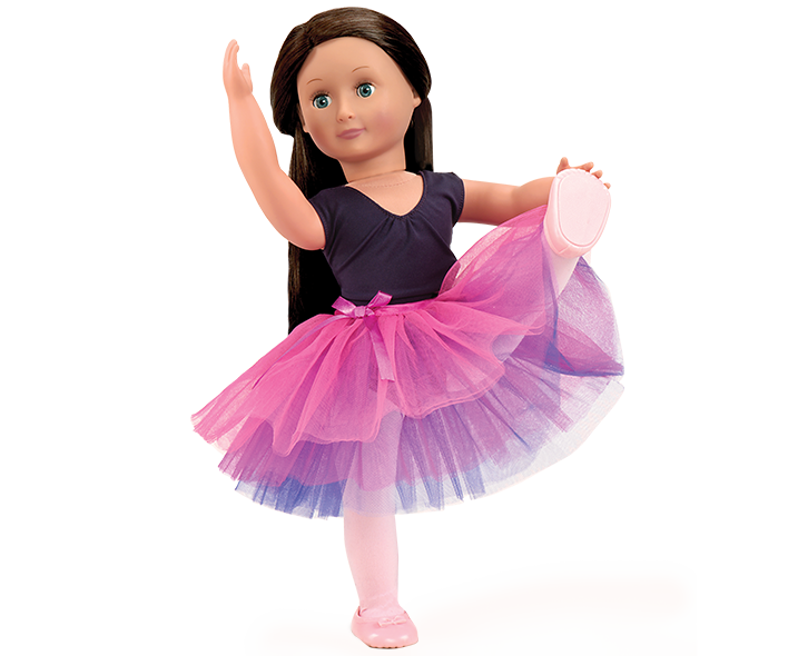 """Our Generation 18/"""" doll Dressed Twirl Ballet Outfit fits American Girl Isabelle"""