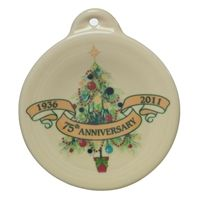 Explore Party Ware Homer Laughlin and more! Fiesta® Christmas Tree ...  sc 1 st  Pinterest & Fiesta® Christmas Tree 75th Anniversary Ornament made by Homer ...