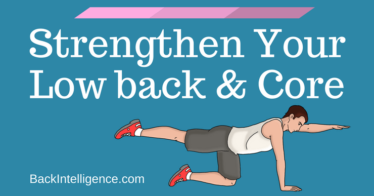 6 Exercises to strengthen lower back and core muscles
