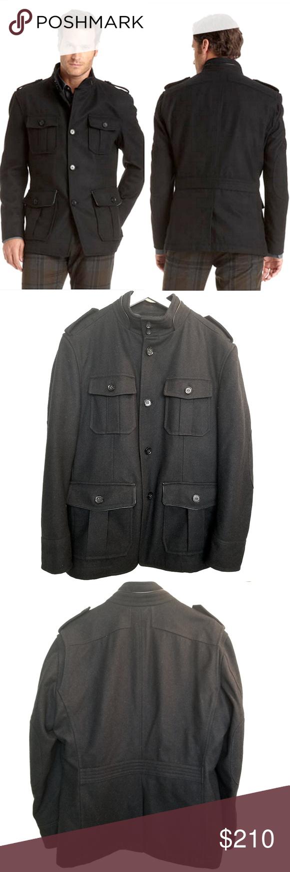 Hugo Boss Colbit Military Jacket   Military jacket, Wool ...