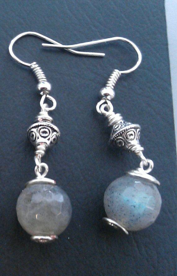 Reiki attuned silver plated Labradorite by empoweredcrystals,