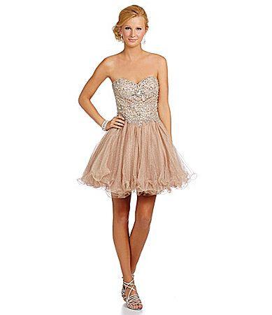 Glamour by Terani Couture JewelBodice Party Dress #Dillards | Prom ...