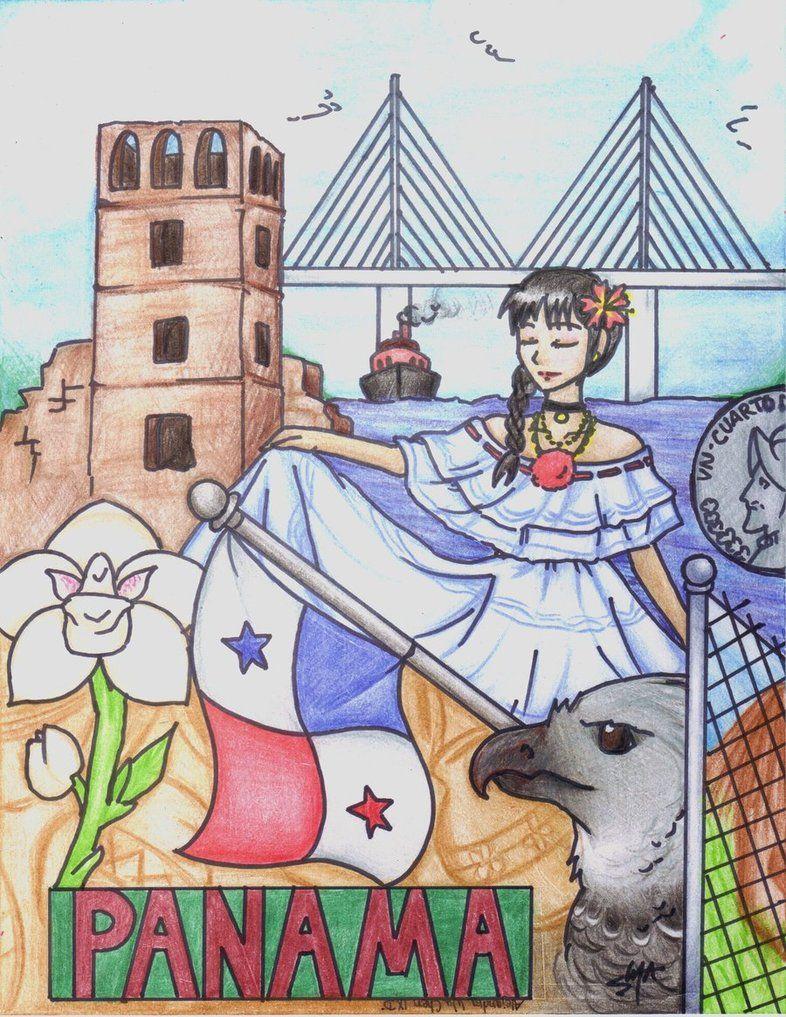 Panama La Patria Mia By Mikikawashi D32ki8e Jpg 786 1017 Zelda Characters Character Anime