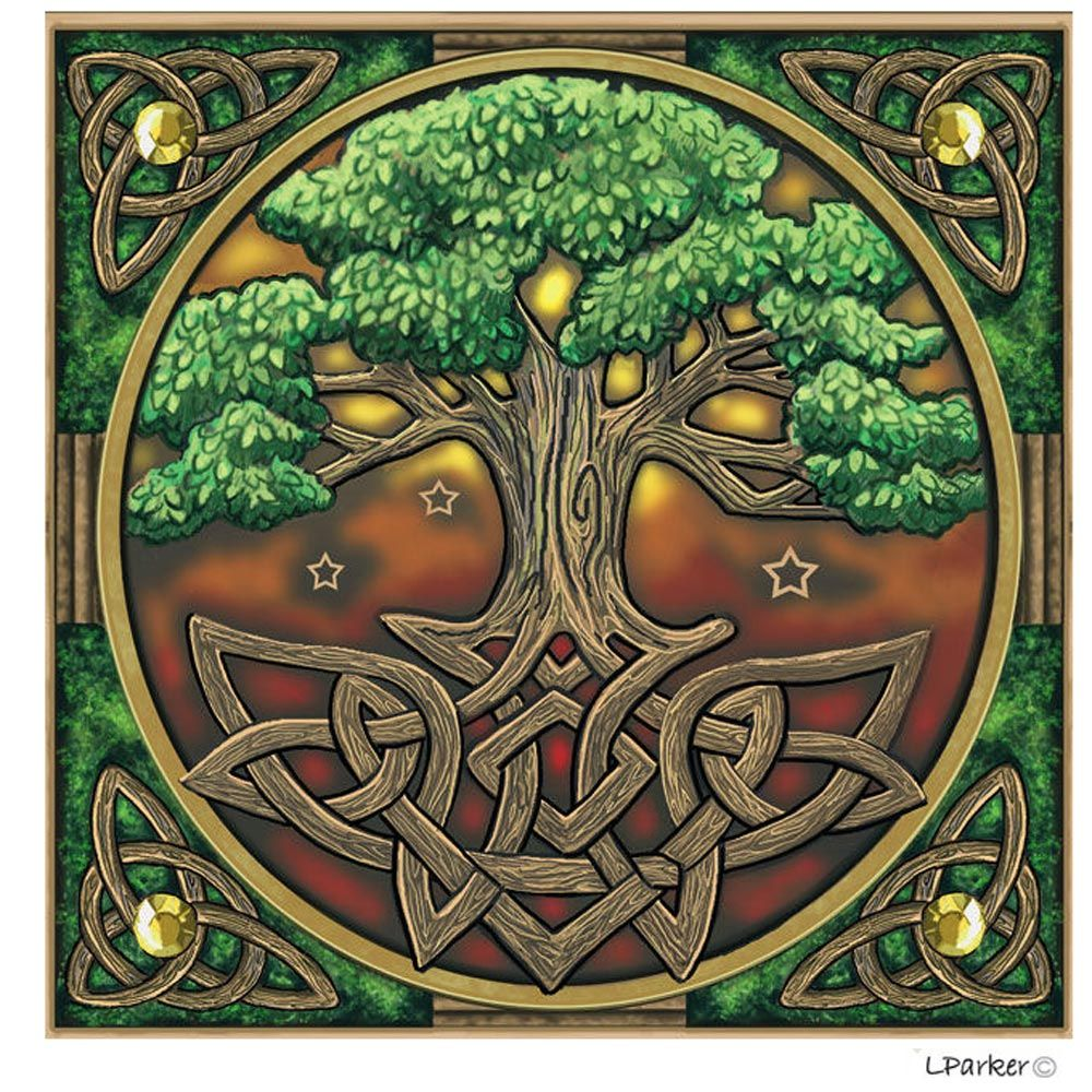 Owl greeting card set welsh artist jen delyth celtic art studio - Our Beloved Celtic Tree Of Life Cards Make The Perfect Yule Cards Pagan Birthday Cards Sabbat Celebration Cards Or Just As A Unique Pagan Themed Greeting