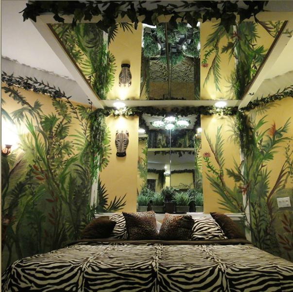 mirror | Jungle room, Bedroom themes, Kids bedroom design
