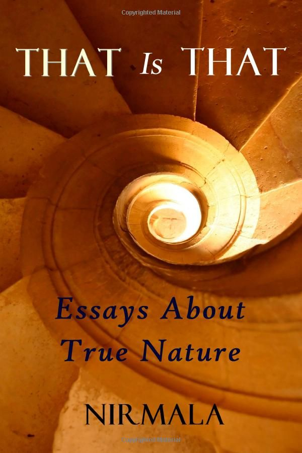 That Is That: Essays About True Nature