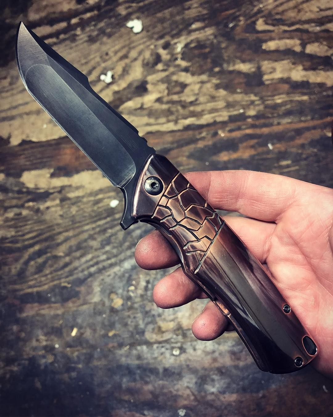 Zieba S4 With Solid Pure Silver Er Dum Spiro Spero Motto Inside First Made Pion Limitededitions Theperfectedc Merica Knife